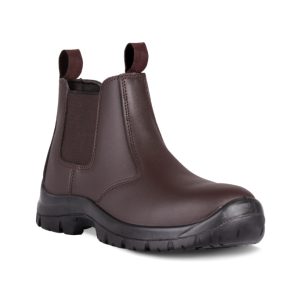 DOT CHELSEA BROWN BOOTS