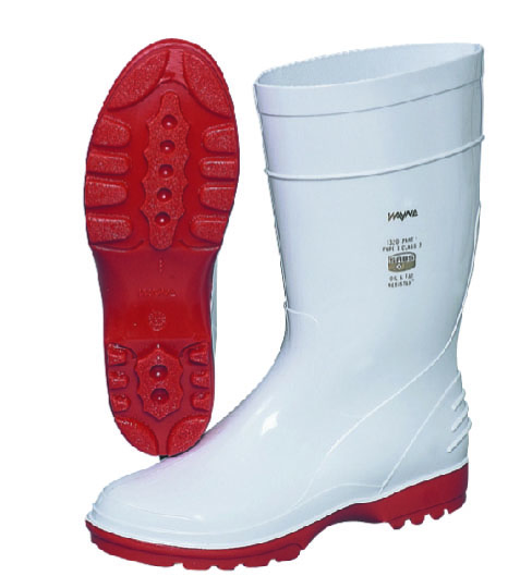 white boots safety hub