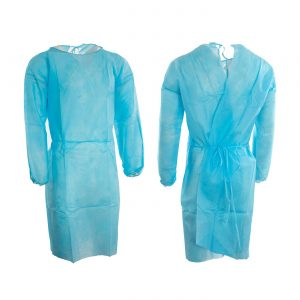 Disposable hospital/isolation gown (50gsm)